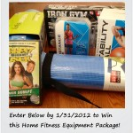 Sweepstakes: Enter to Win a Home Fitness Equipment Package